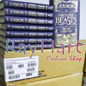 Fantastic Beasts and Where to Find Them: The Original Screenplay(From the World of Harry Potter) | Buku Novel Import Bahasa Inggris - 2