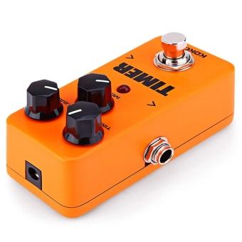 Flanger FDD2 Timer True Bypass Design Mini Guitar Effect Pedal(Darksalmon) - intl - 4