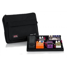 Gator GPTBLACK Plywood Pedal Board with Black Nylon 18 x 12 Inches Carry Bag and External Pocket - intl