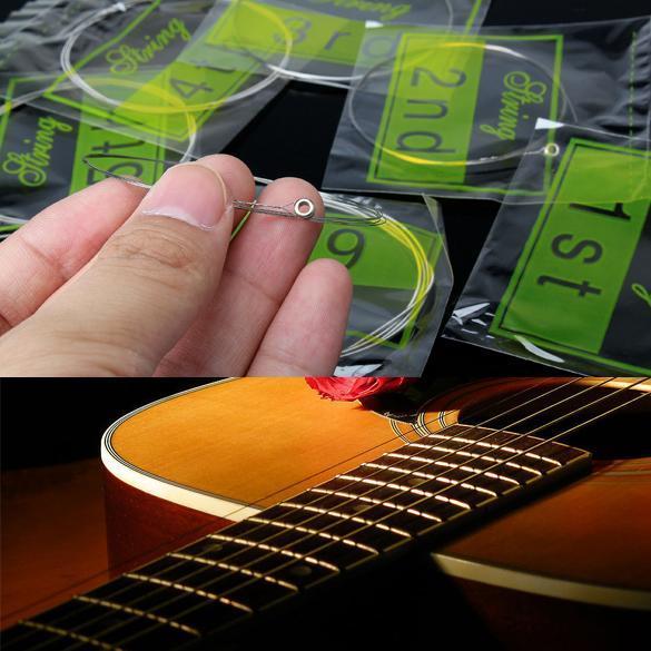 ... Gitar Akustik Rangkaian Gitar Elektrik 6 Senar Baja