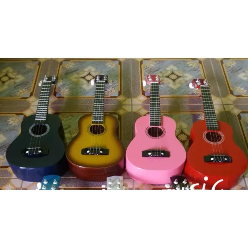 Terbaik Murah Gitar Ukulele Aloha Hot Deals Cheap Online