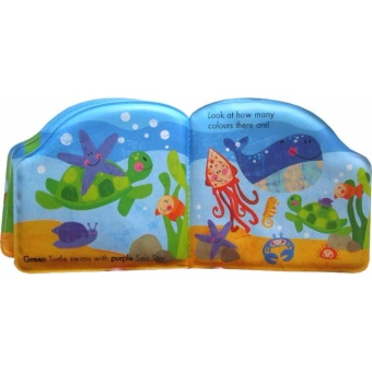 Hellopandabooks - First Steps Let's Find Colours! Squeaky Bath Book(FISH) - 3