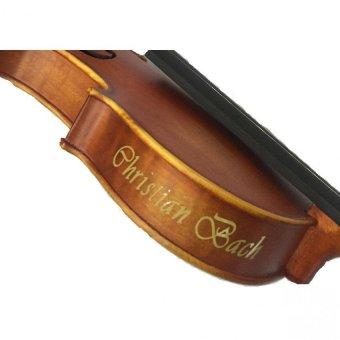 Christian Bach Violin Biola CB 300 Wood 5 .