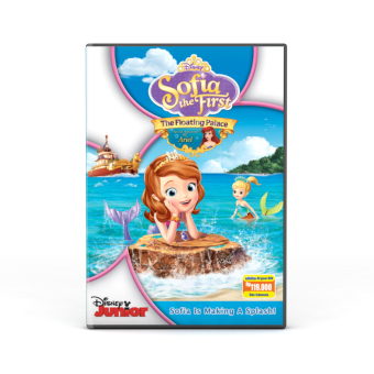 Harga Disney Junior - Dvd : Sofia The First : The Floating Palace Dvd