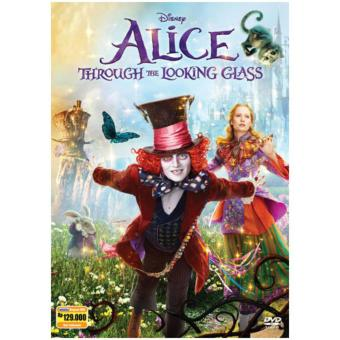 Harga DVD Alice Through The Looking Glass