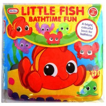 Harga Hellopandabooks - Little Tikes LITTLE FISH Bathtime Fun Bath Book