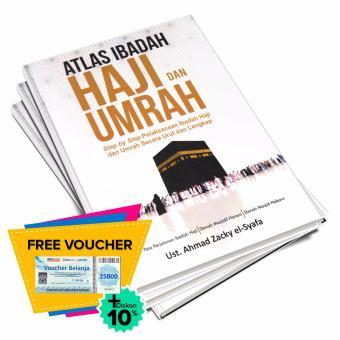 Buku Seru - Atlas Ibadah Haji dan Umrah (Hard Cover)