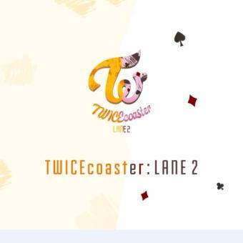 Dua kali menu ALBUM/TWICEcoaster: LANE 2 - International .
