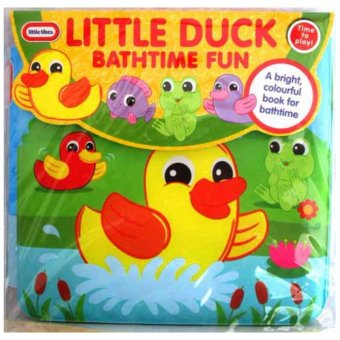Harga Hellopandabooks - Little Tikes LITTLE DUCK Bathtime Fun Bath Book
