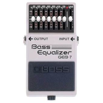 Harga Boss Effect Guitar Equalizer Bass Geb7- Silver