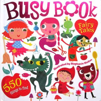 Hellopandabooks - Busy Book Fairy Tales with 550 Things to Find (Look and Find Board Book)