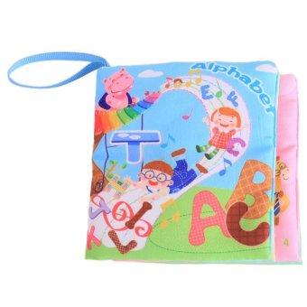 BELI SEKARANG Menggantung-Qiao Pendidikan Dini Bayi Kain Warna-Warna-Warni BukuBelajar Gambar Abjad Klik di sini !!!