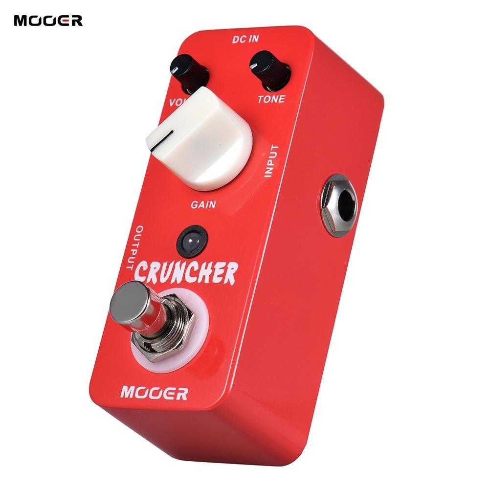 ... MOOER CRUNCHER High Gain Distortion Guitar Effect Pedal True Bypass Full Metal Shell - intl ...