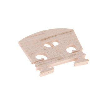 Penuh Ukuran 4/4 Jembatan Biola Maple 34 mm Dengan Tinggi 3 mm Tebalnya Indah Pengerjaan - 4