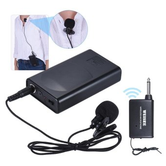 harga Portable Lavalier Lapel Collar Clip-on Wireless Microphone Voice Amplifier for Lecture Conference Speech Promotion Outdoorfree - intl Lazada.co.id