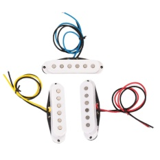 Set of Electric Guitar Alnico Single Coil Pickup Neck+Middle+Bridge Access - intl