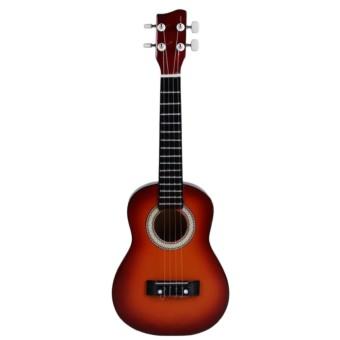 Ukulele Kentrung Gitar Guitar Mini 4 Senar Instrumen Alat Musik ...