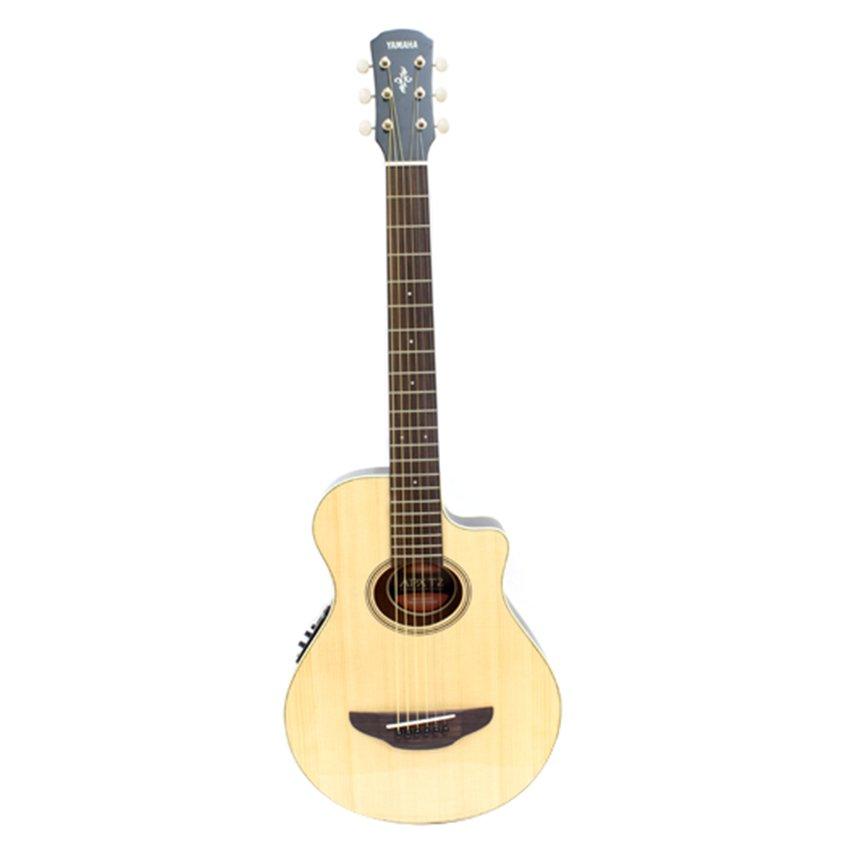 Yamaha Gitar Mini Akustik Elektrik APX-T2 - Natural