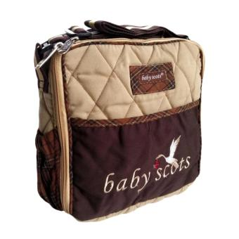 Harga Baby Scots Tas Embroidery Simple Bag - Cokelat