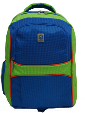 Navy Club Tas Ransel Laptop Kasual 3272 Tas Pria Tas Wanita - Tas Laptop Backpack Up to 15 inch Bonus Bag Cover - Hijau