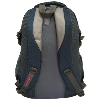 Real Polo Tas Ransel Kasual 6276 Backpack Daypack - Biru - 5