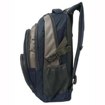 Real Polo Tas Ransel Kasual 6276 Backpack Daypack - Biru - 3