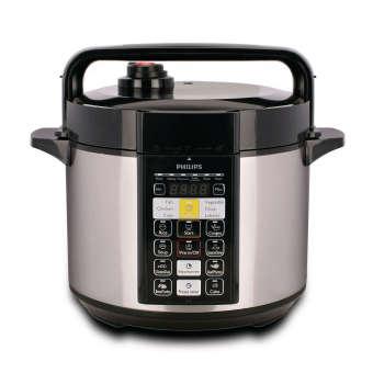 philips – electric pressure cooker 5 lt hd 2136 – hitam