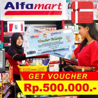 Alfamart Voucher Rp 500.000,-