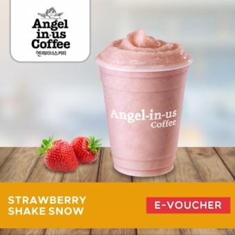 Angel in us Coffee STRAWBERRY SHAKE SNOW