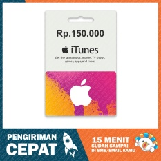 Apple iTunes Gift Card Region Indonesia Rp. 150.000