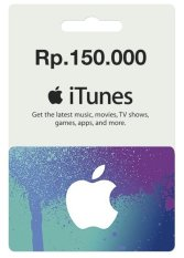 Apple iTunes Gift Card Rp.150 K
