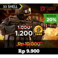 Garena 33 Shell - Support AoV - Digital Code
