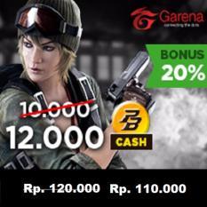 Garena PB Cash 100000 (12000 cash) - Top Up