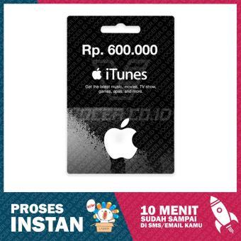 BELI SEKARANG iTunes Gift Card Region Indonesia Rp 600000- Klik di sini !!!
