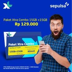 Kartu Perdana & Paket XL 15GB + 15GB