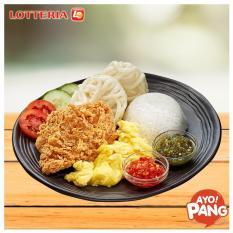 [LOTTERIA] Crispy Chicken Sambal + Lotteria Tea