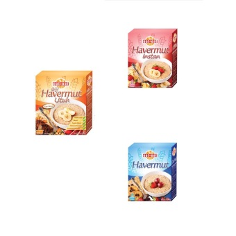Oat And Oat Series Paket Isi 3 (Instant Oatmeal, Rooled Oat,Oatmeal)