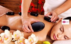 Slimcare 1x Hot Stone + Aromatherapy + Body Massage + Face Acupressure + Body Moisturizer + Ginger Tea