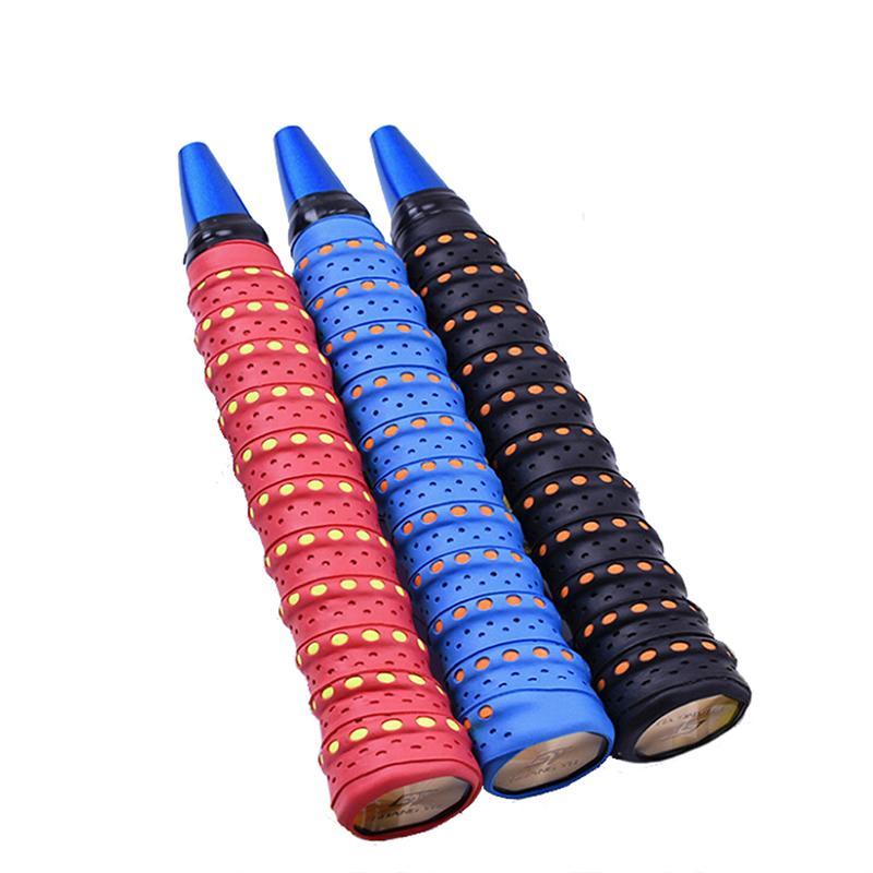 Absorb Sweat Racket Anti-slip Tape Handle Grip For Tennis Badminton Squash Ba^P