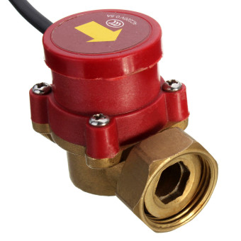 20mm Male Thread Connector Circulation Pump Water Flow Sensor - 3