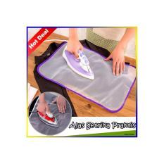 Alas Setrika Pakaian (Pelindung Saat Setrika Baju Anti Gosong)