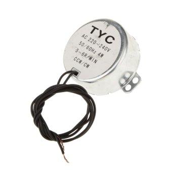 bolehdeals tyc -50 motor sinkron ac 220 v 3 rpm 4 watt 4 kgf cm.ccw/cw torsi –