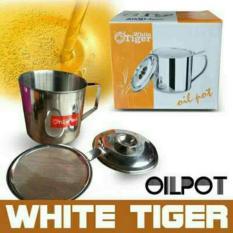 BRG-17000418 Oil Pot/Saringan Minyak 1-1 Liter White Tiger
