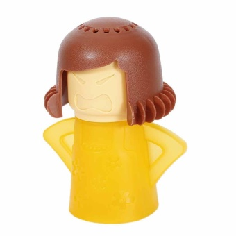 Cartoon Angry Mama Microwave Cleaner Cooking Easily Kitchen Gadget Tools Newest - intl
