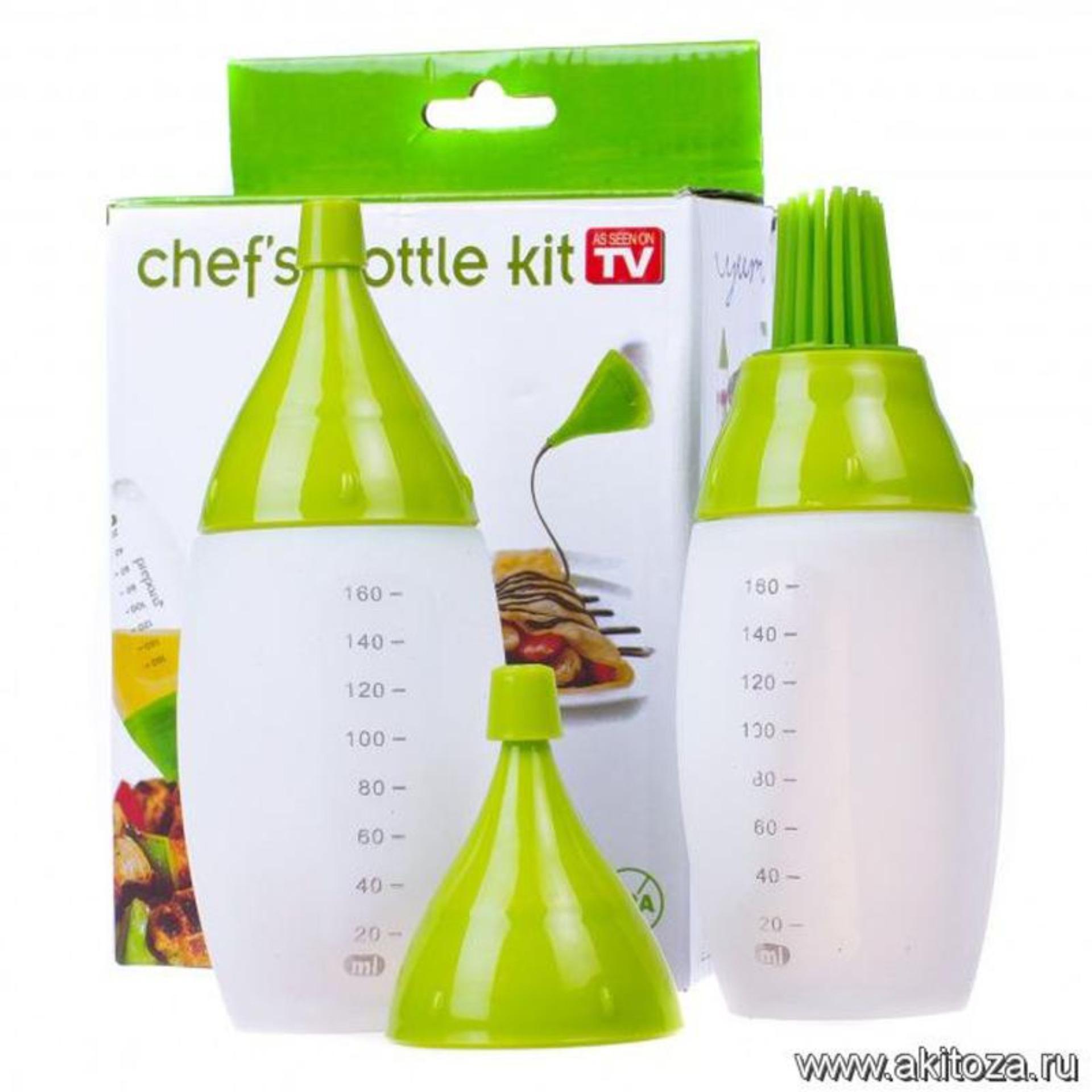 Chefs Bottle Kit Botol Sembur Pencet Oles Chef Masak Bumbu Barberque .