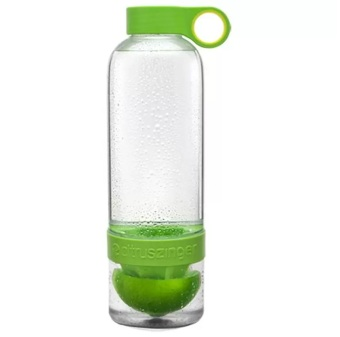 Citrus Zinger Infused Bottle Water - Hijau