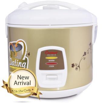 harga Cosmos Magic Com, Magic Jar, Rice Cooker, Penanak Nasi 1.8L DualCoating CRJ 3218 - Coklat Lazada.co.id