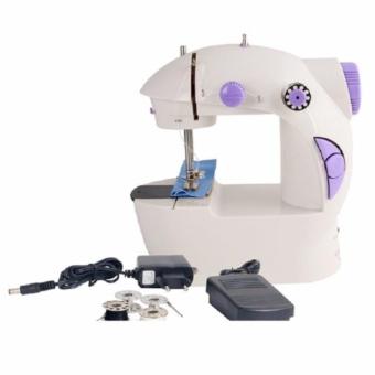 DSC Mini Sewing Machine 4IN1 Portable SM-202A/ Mesin Jahit 4IN1 Mini - Putih - 3