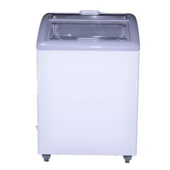 FRESTA Curve Glass Freezer 159 Liter - UC16FAG - Putih