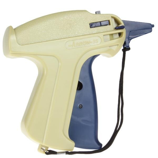Garment Price Label Tag Tagging Gun with 1000 Barbs & 1 ExtraNeedle -